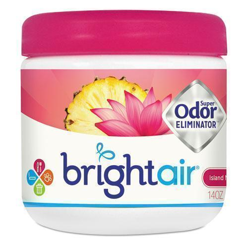 BRIGHT Air Super Odor Eliminator, Island Nectar And Pineapple, Pink, 14oz-BRIGHT Air®-Omni Supply