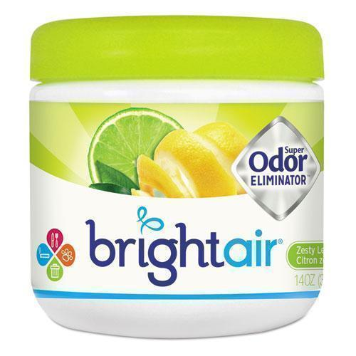 BRIGHT Air Super Odor Eliminator, Zesty Lemon And Lime, 14 Oz-BRIGHT Air®-Omni Supply