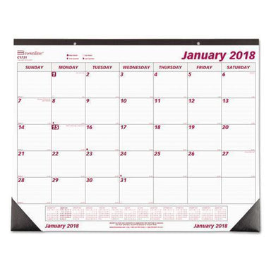 Brownline MONTHLY DESKPAD CALENDAR, CHIPBOARD, 22 X 17, 2019-Brownline®-Omni Supply