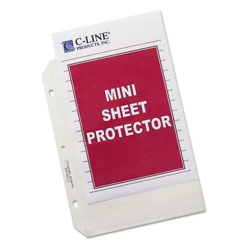 "C-Line Heavyweight Polypropylene Sheet Protector, Clear, 2"", 8 1-2 X 5 1-2, 50-bx-C-Line®-Omni Supply"