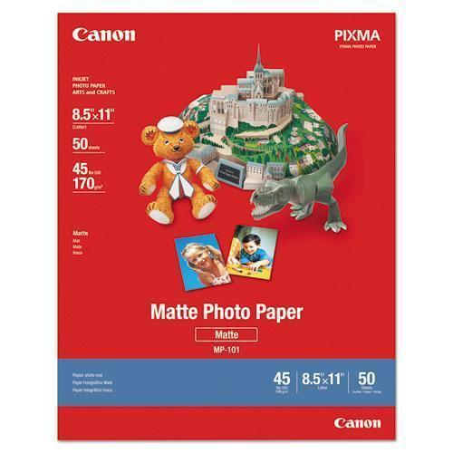 Canon Photo Paper Plus, Matte, 8-1-2 X 11, 50 Sheets-pack-Canon®-Omni Supply