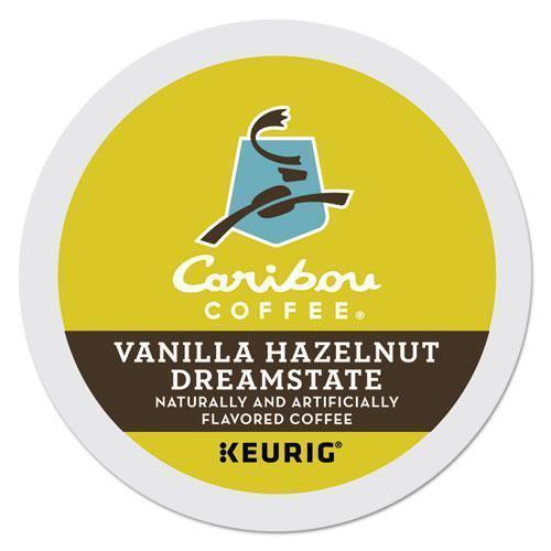 Caribou Caramel Hideaway K-Cups, Mild Roast, 24-box-Caribou Coffee®-Omni Supply