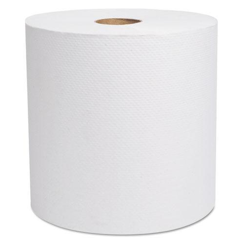"Cascades Select Hardwound Roll Towels, White, 7 7-8"" X 800 Ft, 6-carton-Cascades PRO-Omni Supply"
