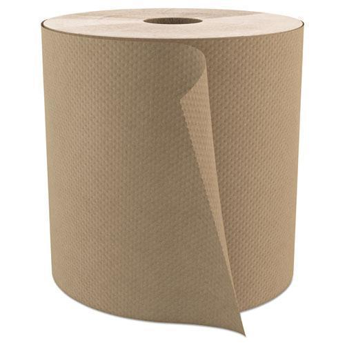 "Cascades Select Roll Paper Towels, 1-Ply, 7.9"" X 800 Ft, Natural, 6-carton-Cascades PRO-Omni Supply"
