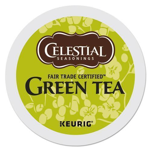 Celestial Green Tea K-Cups, 96-carton-Celestial Seasonings®-Omni Supply