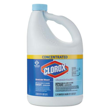 Clorox Concentrated Germicidal Bleach, Regular, 121oz Bottle-Clorox®-Omni Supply