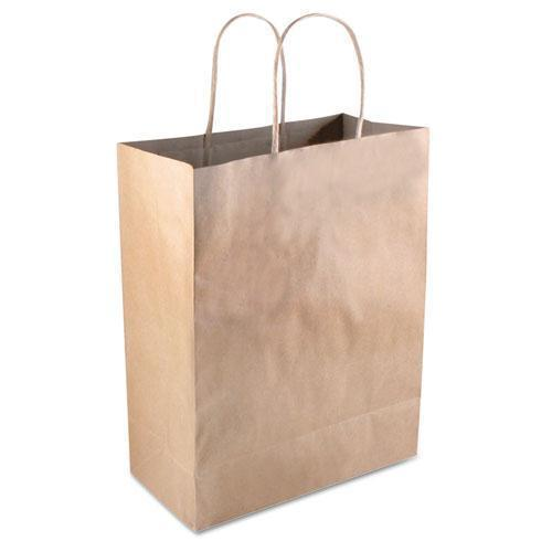 "COSCO Premium Shopping Bag, Brown Kraft, 8"" X 10 1-4"", 50-box-COSCO-Omni Supply"