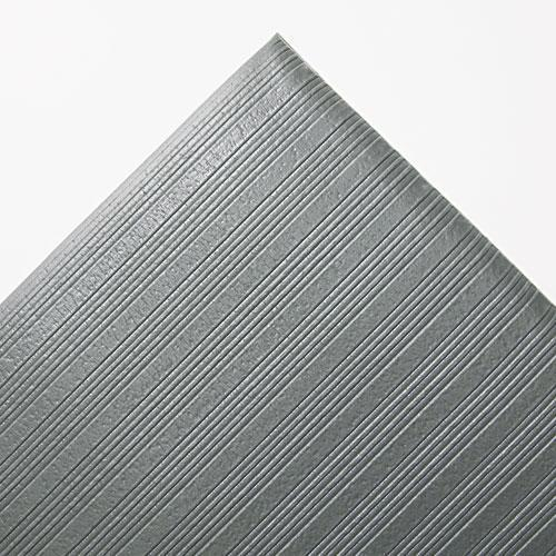 Crown Ribbed Anti-Fatigue Mat, Vinyl, 36 X 60, Gray-Crown-Omni Supply