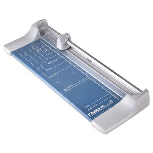 "DAHLE Rolling-rotary Paper Trimmer-cutter, 7 Sheets, 18"" Cut Length-Dahle®-Omni Supply"
