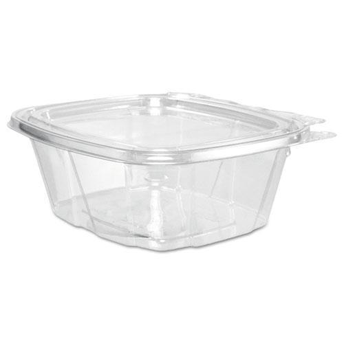 Dart Clearpac Container, 4.9 X 2.5 X 5.5, 16 Oz, Clear, 200-carton-Dart®-Omni Supply