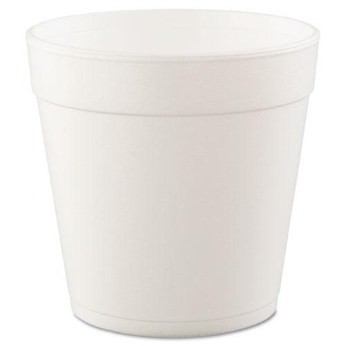 Dart Foam Containers, 32oz, White, 25-bag, 20 Bags-carton-Dart®-Omni Supply