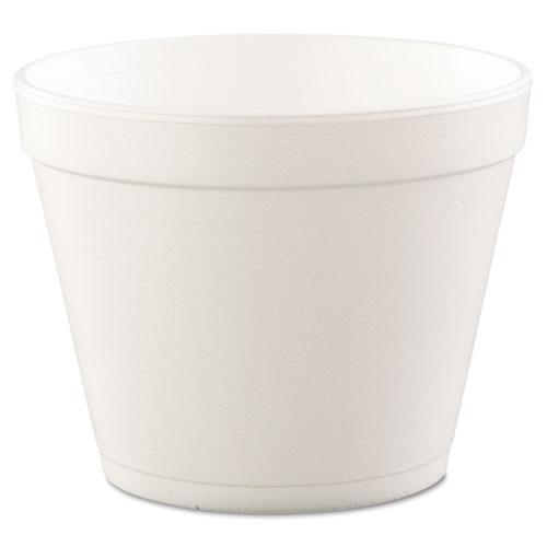 Dart Foam Containers, Foam, 24oz, White, 25-bag, 20 Bags-carton-Dart®-Omni Supply