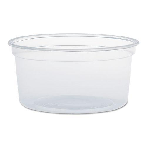 Dart MICROGOURMET FOOD CONTAINERS, 12 OZ, CLEAR, 500-CARTON-Dart®-Omni Supply