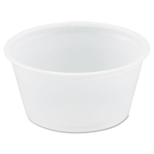 Dart Polystyrene Portion Cups, 2oz, Translucent, 250-bag, 10 Bags-carton-Dart®-Omni Supply