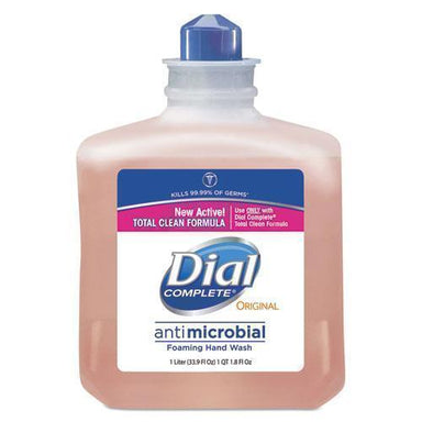 Dial Antimicrobial Foaming Hand Wash, 1000ml Refill, 6-carton-Dial® Professional-Omni Supply