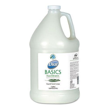 Dial Basics Liquid Hand Soap, Fresh Floral, 1 Gal Bottle-Dial® Professional-Omni Supply