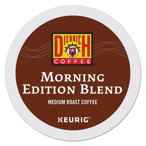 DiedrichCf Morning Edition Coffee K-Cups, 96-carton-Diedrich Coffee®-Omni Supply
