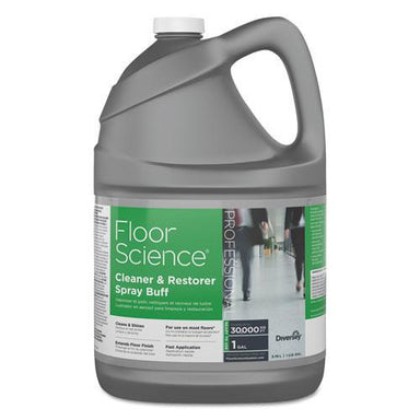 Diversey Floor Science Cleaner-restorer Spray Buff, Citrus Scent, 1 Gal Bottle, 4-carton-Diversey™-Omni Supply