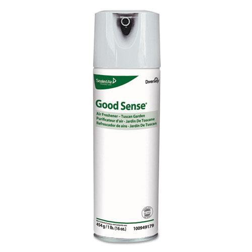 Diversey Good Sense Air Freshener, Tuscan Garden, 16 Oz, 6-carton-Diversey™-Omni Supply