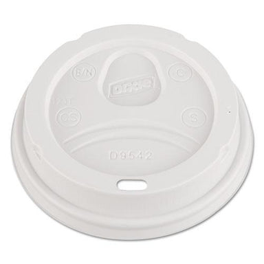 Dixie Dome Drink-Thru Lids, Fits 12 Oz. & 16 Oz. Paper Hot Cups, White, 100-pack-Dixie®-Omni Supply
