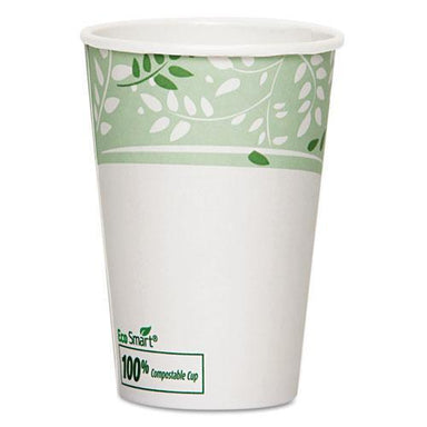 Dixie Ecosmart Hot Cups, Paper W-pla Lining, Viridian, 16oz, 1000-carton-Dixie®-Omni Supply
