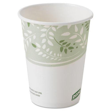 Dixie Ecosmart Hot Cups, Paper W-pla Lining, Viridian, 8oz, 1000-carton-Dixie®-Omni Supply