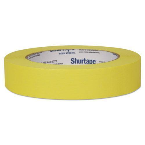 "Duck Color Masking Tape, .94"" X 60 Yds, Yellow-Duck®-Omni Supply"