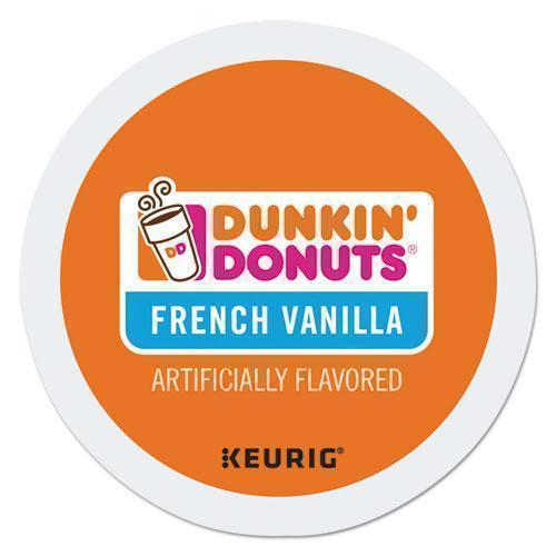 DunkinDonu K-Cup Pods, French Vanilla, 24-box-Dunkin Donuts®-Omni Supply