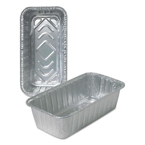 DurablePak ALUMINUM LOAF PANS, 2 LB, 500-CARTON-Durable Packaging-Omni Supply
