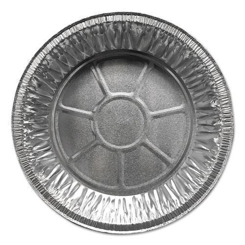 "DurablePak ALUMINUM PIE PANS, 9"" DIA., SHALLOW, 500-CARTON-Durable Packaging-Omni Supply"