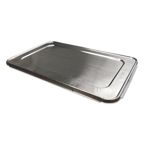 DurablePak ALUMINUM STEAM TABLE LIDS FOR FULL SIZE PAN, 50-CARTON-Durable Packaging-Omni Supply