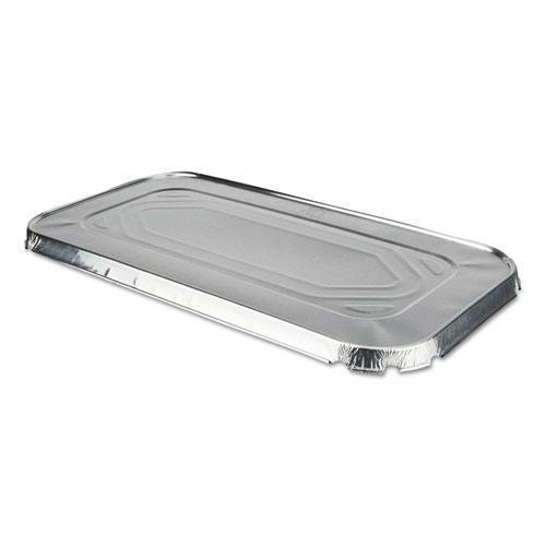 DurablePak ALUMINUM STEAM TABLE LIDS FOR THIRD SIZE PAN, 100 -CARTON-Durable Packaging-Omni Supply