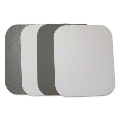 DurablePak FLAT BOARD LIDS FOR 1 LB OBLONG PANS, 1000 -CARTON-Durable Packaging-Omni Supply