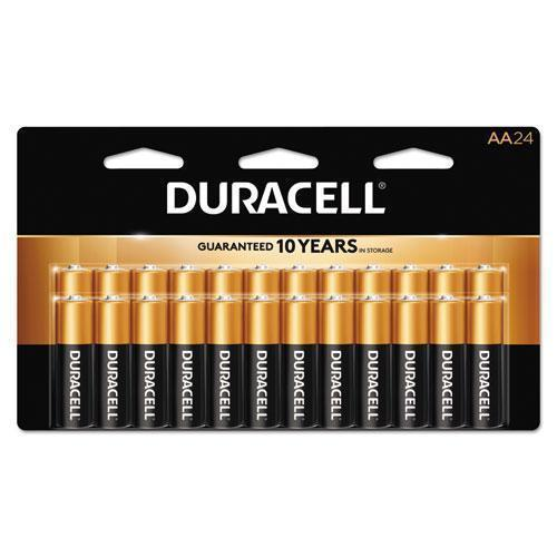Duracell Coppertop Alkaline Batteries, Aaa, 24-bx-Duracell®-Omni Supply