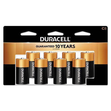 Duracell Coppertop Alkaline Batteries, C, 8-pk-Duracell®-Omni Supply
