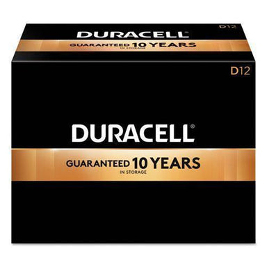 Duracell Coppertop Alkaline Batteries, D, 12-bx-Duracell®-Omni Supply