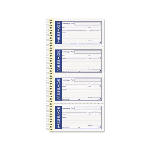 Adams Write 'n Stick Phone Message Pad, 2 3-4 X 4 3-4, Two-Part Carbonless, 200 Forms