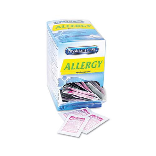 Physicians Allergy Antihistamine Medication, Two-Pack, 50 Packs-box