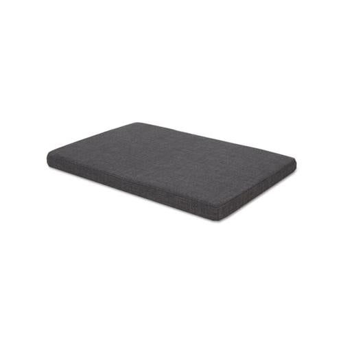 Alera Seat Cushion For Low Credenzas, 29 1-2 X 19 1-8 X 2 1-8, Smoke