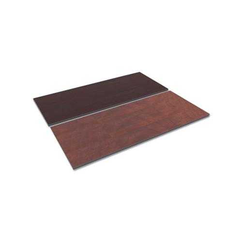 Alera Reversible Laminate Table Top, Rectangular, 71 1-2 X 29 1-2, Med Cherry-mahogany