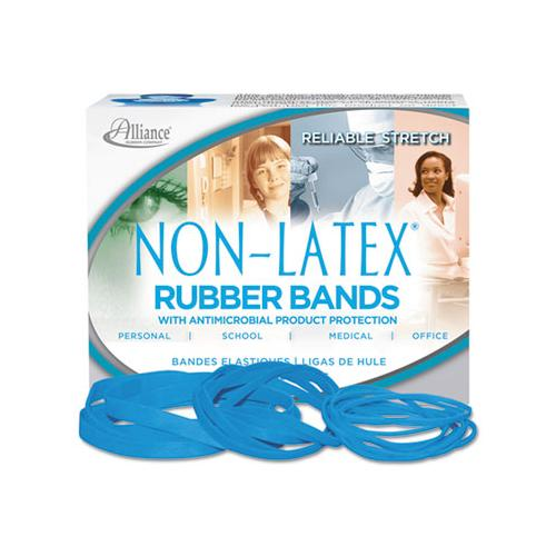 Alliance Antimicrobial Non-Latex Rubber Bands, Sz. 117b, 7 X 1-8, .25lb Box
