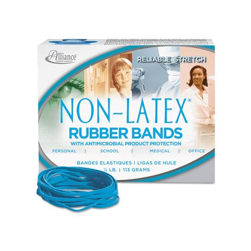 Alliance ANTIMICROBIAL NON-LATEX RUBBER BANDS, SZ. 33, 3 1-2 X 1-8, .25LB BOX