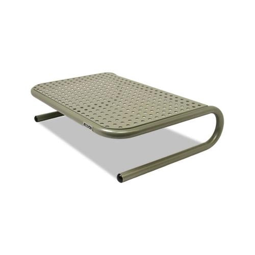 "Allsop Metal Art Jr. Monitor Stand, 11"" X 14 1-2"" X 4 1-2"", Pewter"