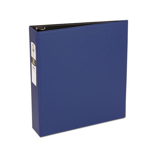 "Avery Economy Non-View Binder With Round Rings, 11 X 8 1-2, 2"" Capacity, Blue"