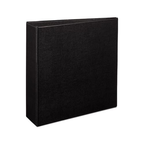 "Avery Durable Binder With Slant Rings, 11 X 8 1-2, 3"", Black"