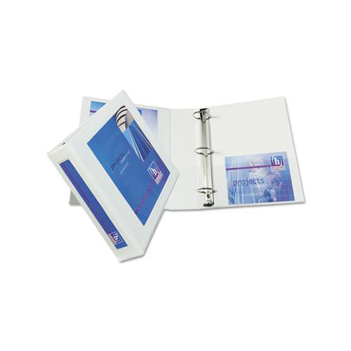 "Avery Framed View Heavy-Duty Binder W-locking 1-Touch Ezd Rings, 2"" Cap, White"