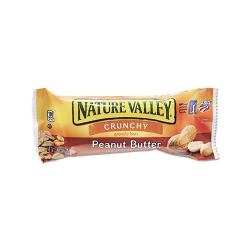 NaturVally GRANOLA BARS, PEANUT BUTTER CEREAL, 1.5OZ BAR, 18-BOX