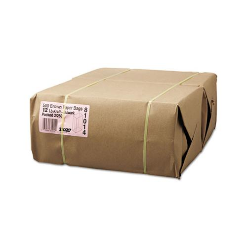 General #12 Paper Grocery, 57lb Kraft, Extra-Heavy-Duty 7 1-16x4 1-2 X13 3-4, 500 Bags