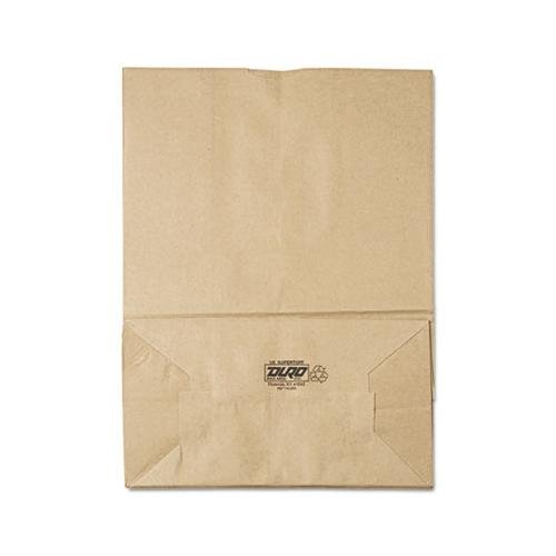 General 1-6 Bbl Paper Grocery Bag, 75lb Kraft, Standard 12 X 7 X 17, 400 Bags