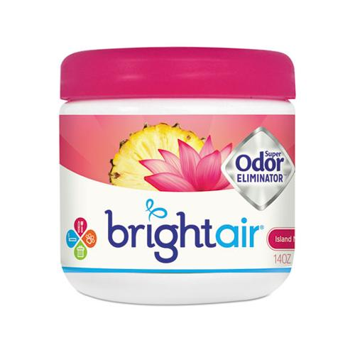 BRIGHT Air Super Odor Eliminator, Island Nectar And Pineapple, Pink, 14oz